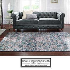 NEW* GORDON GREY VELVET SOFA 0849400120 141044543 HOME DECORATORS COLLECTION TUFTED NAILHEAD SOFAS LIVING ROOM FURNIT...