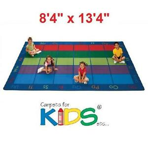 NEW* CFK COLORFUL SEATING AREA RUG CARPETS FOR KIDS HOME CARPET RUGS FLOORING DECOR ACCENTS ABC PLAY AREAS PLAYING