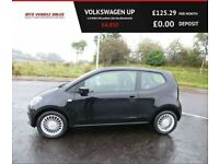 VOLKSWAGEN UP 1.0 HIGH UP,2012,Alloys,,Leather,Sat Nav,Bluetooth,£20 Road Tax