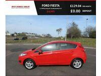 FORD FIESTA 1.2 ZETEC,2014,Alloys,Air Con,Bluetooth,54MPG,£30 Road Tax,F.S.H