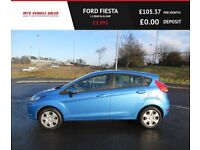 FORD FIESTA 1.2 EDGE,2011,1 Previous Owner,Service History,AirCon,Spotless Condition,Very Economical