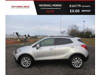 VAUXHALL MOKKA 1.7 SE CDTI Automatic,2014,DAB,Bluetooth,Two Tone Leather,Air Con,Cruise,F.S.H