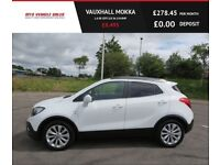 VAUXHALL MOKKA 1.6 SE CDTI,2015,Low Miles,Black Leather,Cruise,Air Con,Full Service History