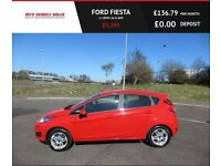 FORD FIESTA 1.2 ZETEC,2014,Alloys,Low Miles,Bluetooth,Air Con,Service History,Spotless Car