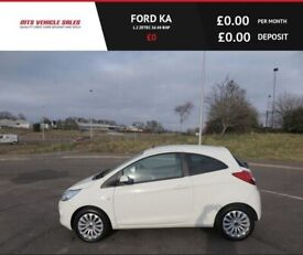 image for FORD KA 1.2 ZETEC,2013,Alloys,Air Con,Low Miles,Bluetooth,57mpg,£30 Road Tax,F.S.H