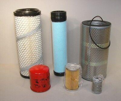 Takeuchi Tb135 Excavator Annual Filter Kit For Sn 13510004 - 13514050 3tne88