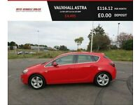 AUXHALL ASTRA 2.0 SRI CDTI 2012,Low Miles,Alloys,Air Con,Cruise,62mpg,F.S.H,Spotless