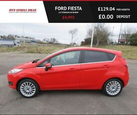 image for FORD FIESTA 1.0 TITANIUM,2014,Alloys,Bluetooth,DAB,Air Con,63mpg,Zero Road Tax
