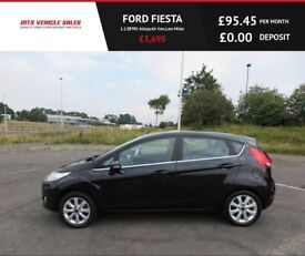 FORD FIESTA 1.2 ZETEC ,2009,Alloys,Air Con,Low Miles,Service History,Ideal First Car