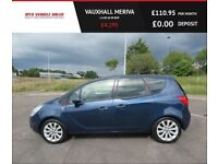 VAUXHALL MERIVA 1.4 SE,2013, Alloys,Air Con,Cruise Control,Half Leather,1 Previous Owner,F.S.H