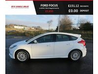 FORD FOCUS 1.6 ZETEC S TDCI 2013,Alloys,Air Con,Bluetooth, 67mpg,£20 Road Tax,Very Clean Condition