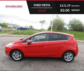 image for FORD FIESTA 1.5 ZETEC TDCI,2013,Alloys,Air Con,Bluetooth,76mpg,£0 Road Tax ,Very Clean