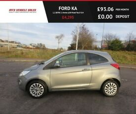 FORD KA 1.2 ZETEC,2015,Alloys,Air Con,1 Owner,£30 Road Tax,57mpg,Ver Clean,F.S.H