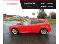FORD FOCUS 1.6 ZETEC S TDCI 2014, 18*Alloys,Bluetooth,DAB,67mpg,£30 Road Tax,F.S.H