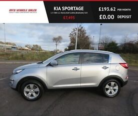 image for KIA SPORTAGE 1.7 CRDI 2,2013,1 Owner,Half Leather,Bluetooth,Privacy Glass,54mpg,F.S.H