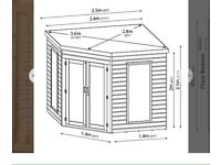 8 x 8 summer house
