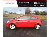 VAUXHALL CORSA 1.2 STING,2015,Alloys,Cruise Control,Bluetooth,F.S.H,53mpg,Ins Group 2