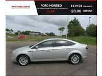FORD MONDEO 2.0 ZETEC BUSINESS EDITION TDCI,2012,Sat Nav,Air Con,Bluetooth,Cruise Control,57mpg