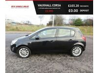 VAUXHALL CORSA 1.2 SE 2013,Alloys,Half Leather Heated Seats,,Cruisel,Air Con ,Spotless Condition