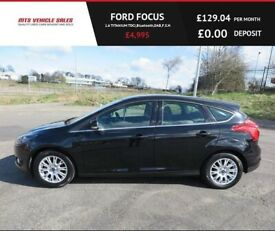 image for FORD FOCUS 1.6 TITANIUM TDCI,2012,Air Con,Cruise,Bluetooth,DAB,F.S.H,67mpg,£20 Road Tax