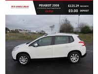 PEUGEOT 2008 1.2 ACCESS PLUS,2014,1 Owner,57mpg,£30 Road Tax,Service History,Very Clean&Tidy Car