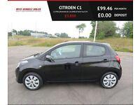 CITROEN C1 1.0 FEEL,2014,Bluetooth,Air Con,DAB,68mpg,£0 Road Tax,F.S.H,Very Clean Car