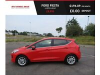 FORD FIESTA 1.0 ZETEC,2017,1 Owner,Only 12,500mls,Full Service History,Bluetooth,Air Con,Like New