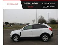 VAUXHALL ANTARA 2.2 EXCLUSIV CDTI,2015,Alloys,Half Leather,Bluetooth,Air Con,Privacy Glass,F.S.H