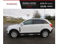 VAUXHALL ANTARA 2.2 EXCLUSIV CDTI,2011,Low Miles, 4x4 Half Leather,Park Sensors,Air Con,F.S.H