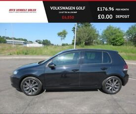 VOLKSWAGEN GOLF 2.0 GT TDI,2012,Black Leather,Bluetooth,Cruise,Air Con,Service History