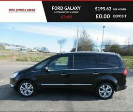 image for  FORD GALAXY 2.0 TITANIUM TDCI,Auto,2013,7 Seater,DAB,Bluetooth,Cruise,Reverse Cam,Service History