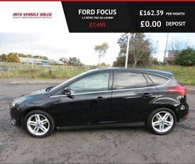 image for FORD FOCUS 1.5 ZETEC TDCI,2015,Bluetooth,DAB.Privacy Glass 74mpg,ZERO Road TaX,.F.S.H