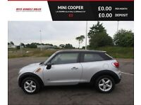 MINI COOPER 1.6 COOPER ALL4,2014,Only 21,000mls,Bluetooth,DAB,Parking Sensors,Spotless,F.S.H
