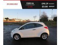 FORD KA 1.2 STUDIO PLUS,2014,Alloys,Bluetooth,£30 Raod Tax,57mpg,F.S.H,Very clean Car