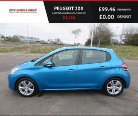 image for  PEUGEOT 208 1.4 ACTIVE,2012,Alloys,Air Con,Bluetooth,Cruise,F.S.H,50mpg,Very Clean