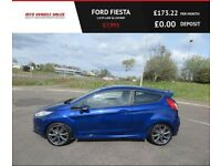 FORD FIESTA 1.0 ST-LINE,2016,17*Alloys,Bluetooth,Air Con,1 Previous Owner,67mpg,Superb Condition