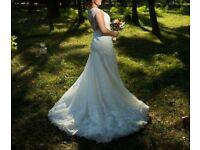 Ivory Pronovias Dress