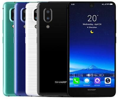 "Sharp AQUOS S2 FS8010 64GB (Factory Unlocked) 5.5"" 4GB RAM Blue White Black"