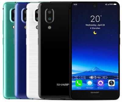"USED - Sharp AQUOS S2 FS8010 64GB (Factory Unlocked) 5.5"" 4GB RAM Blue"