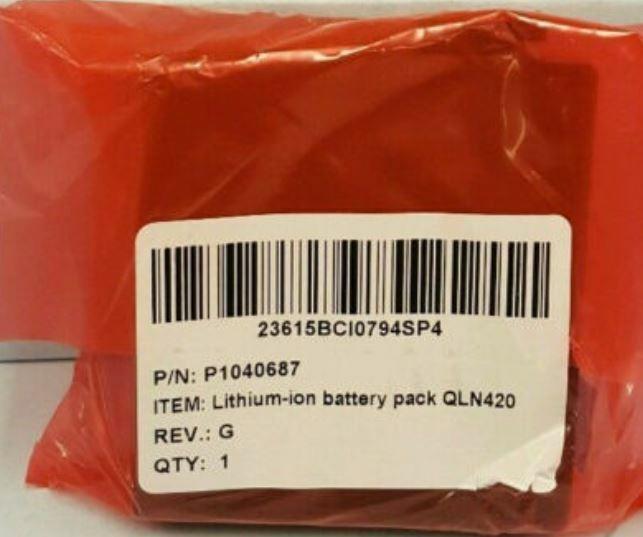 NEW OEM ! Zebra QLn420 Battery Pack (New/Sealed) P1050667-016 ZQ630 battery