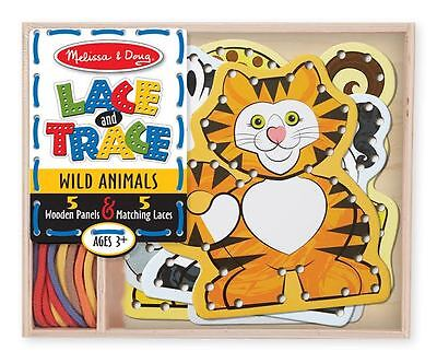 Melissa & Doug Lace and Trace Wild Animals #9276 BRAND NEW