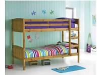 Wooden bunkbeds