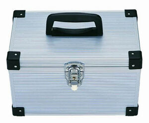 1 x 300 DJ Aluminium CD DVD Blu Ray Disc Storage Flight Carry Case Box