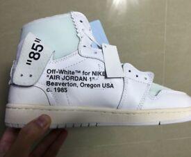 """Nike Jordan 1 x off white """"whites"""""""