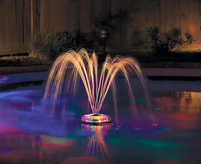 Spa or Swimming Pool Underwater Light Show & Fountain