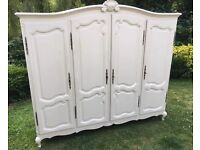**NOW SOLD**Large french wardrobe
