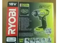 RYOBI ONE+ 18V IMPACT DRIVER RRP £70