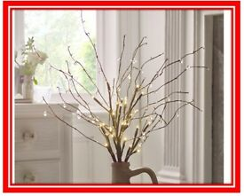 Jewel LED Branch Lights