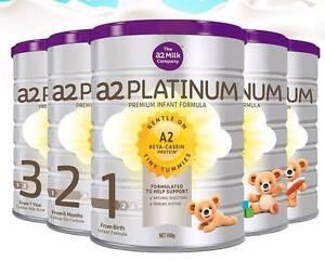 A2 Platinum Baby Formula S1 S2 S3 Cartons (6x900g) Sunnybank Brisbane South West Preview