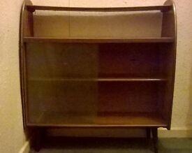 Vintage bookcase cabinet furniture